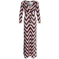 Maxi Striped Dress //Price: $26.12 & FREE Shipping //     #hashtag1