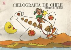 Cielografía de Chile (1973). Ilustraciones de Julio Moreno. Chris Ware, Cover Art, Comics, Illustration, Bicycle Kick, Illustrations, Comic Books, Comic Book, Comic