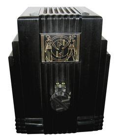 Air King American Art Deco Radio