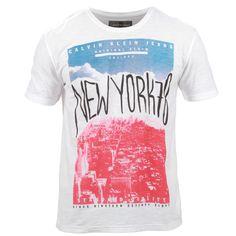 T-Shirt Calvin Klein Jeans New York 78 Branco Autenticidade, originalidade aqui na #casualdenovamutum 65 3308 3039.