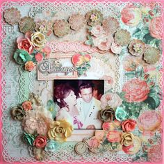 """Waylon and Mom"" Layout created by Lainie Michel for Flying Unicorn CT"