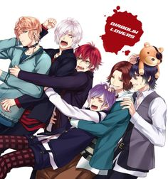 I do love this picture :P #Diabolik Lovers Brothers