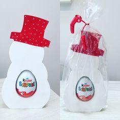 Christmas Snowman Kinder Egg Holder (Stocking Filler)   eBay