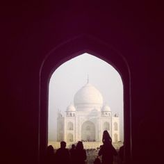 A #latergram from #lonelyplanet staffer @Joseph Cohen Revill's recent trip to #India. #TajMahal. We love the silhouette of the child on the shoulders. To learn more about the Taj and many other wonderful global icons like it check out our new title 'The World's Great Wonders' on shop.lonelyplanet.com. #travel