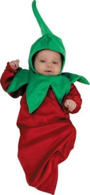 Baby Bunting Chili Pepper Costume
