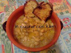 Zuppa di cavolfiore, porri e patate