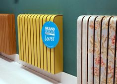 More Loves! from Grand Designs Magazine Brochure Design Inspiration, Website Design Inspiration, Grand Designs Magazine, Design Magazine, Modern Radiator Cover, Office Wall Colors, Diy Furniture Couch, Furniture Design, Casa Clean