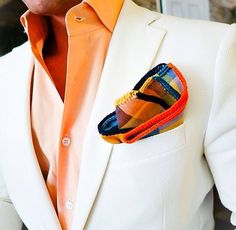 Sebastian Cruz Couture, love that pocket square. Sharp Dressed Man, Well Dressed Men, Mens Attire, Mens Suits, Suit Fashion, Mens Fashion, Fashion Trends, Mein Style, Winter Mode