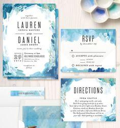 Thiệp cưới biển xanh dành cho các cặp đôi yêu biển | VOW Wedding