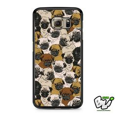 Doggy Pattern Colour Samsung Galaxy S7 Case