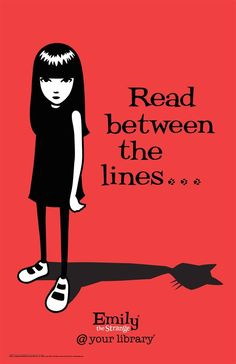 Read between the lines... - Emily the Strange