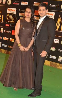 Namrata Looked Gorgeous in Brown Shantanu and Nikhil Long Gown