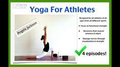 Athletes Series Intro. Yoga For Athletes with Angela Jackson! 4 EPISODES!