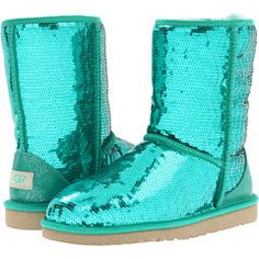 UGG Classic Sparkles. LOVE the color