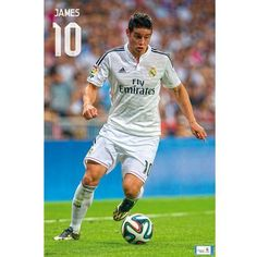 SoccerGaga.com - OFFICIAL Real Madrid C.F. Poster James 35, $18.99 (http://www.soccergaga.com/real-madrid-c-f-poster-james-35/)