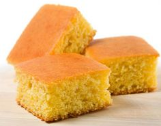 Cornbread 1 cup flour; 1 cup cornmeal; 2 T sugar; 1 T baking powder; ½ t salt; Mix dry ingredients.  1 cup milk; ¼ cup vegetable oil; 1 beaten egg; Mix wet ingredients. Pour together – don't overmix. Preheat oven to 425; 20 – 25 minutes in a greased pan