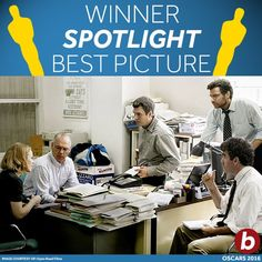 2016 ACADEMY AWARDS ~ Best Picture: SPOTLIGHT
