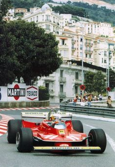 This shot is in Monaco but I saw this man in this car in that year. 1979/Jody Scheckter/Ferrari 312 T4
