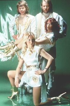 Música Disco: Abba puede que haya sido la banda más famosa de los años 70.