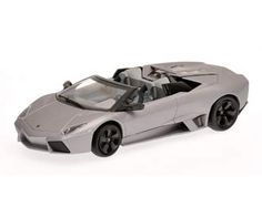 This Lamborghini Reventon Roadster Diecast Model Car is Matt Grey and features working wheels. It is made by Minichamps and is scale (approx. Lamborghini Models, Volkswagen Group, Diecast Model Cars, Nascar, Shabby Chic, Scale, Grey, Vehicles, Wheels