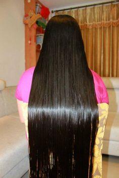 Slick Hairstyles, Braided Hairstyles, Indian Braids, Long Ponytails, Beautiful Long Hair, Hair Photo, Hair Beauty, Long Hair Styles, Chic