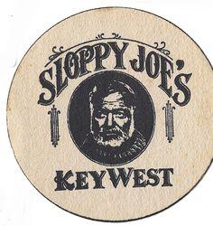 Sloppy Joe's Key West . . . Hemingway