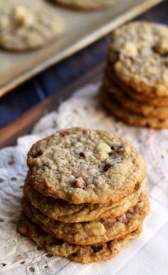 Chewy Cinnamon White Chocolate Chip Coconut Cookies