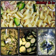Pasta zucchine e tonno bimby