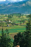 Mosaico agrícola del valle de Sogamoso.