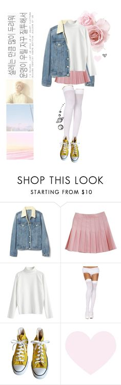 """Serendipity"" by catiaffsoares ❤ liked on Polyvore featuring ToBeInStyle and Converse"