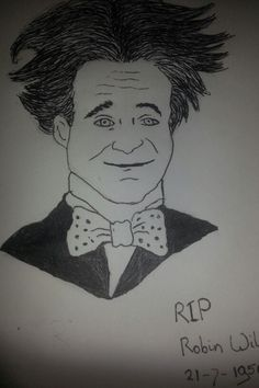 Robin Williams done with Micron pen