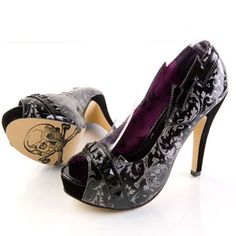 The older I get, the less I actually see myself wearing high heels... but I would make an exception for these.