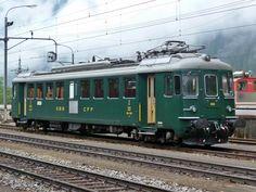 Schweizerische Bundesbahnen (SBB) / Chemins de fer fédéraux suisses (CFF) / Ferrovie Federali Svizzere (FFS), RBe 4/4 1405