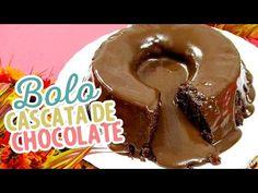 Bolo cascata de chocolate - Amando Cozinhar - Receitas, dicas de culinária, decoração e muito mais!