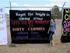 Step by step directions to make your own DEPLOYMENT HOMECOMING BANNER! #DIY #deployment #banner #military www.operationwearehere.com/craftssewingetc.html