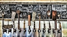 Back Bar and Taps on Pinterest | Beer Taps, Taps and Bar Designs