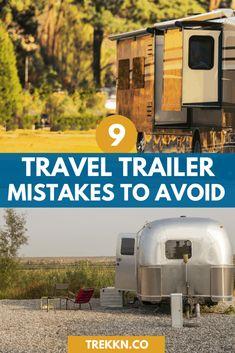 Travel Trailer Living, Travel Trailer Camping, Vintage Travel Trailers, Rv Travel, Go Camping, Camping Ideas, Vintage Caravans, Camping Supplies, Camping Checklist