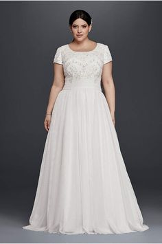 Wedding Dresses for Short Plus Size Brides . 30 Wedding Dresses for Short Plus Size Brides . Crinkle Chiffon Draped Plus Size Wedding Dress Strapless Ruched Bodice Simple Elegant Bridal Gowns Beading Sash Gowns Wedding Dresses Modest Plus Size Brides, Plus Size Wedding Gowns, Modest Wedding Dresses, Wedding Dress Styles, Plus Size Dresses, Bridal Dresses, Tulle Wedding, Gown Wedding, Wrap Dresses