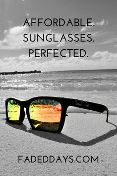 Affordable UV400 sunglasses. Do you want to know our story?