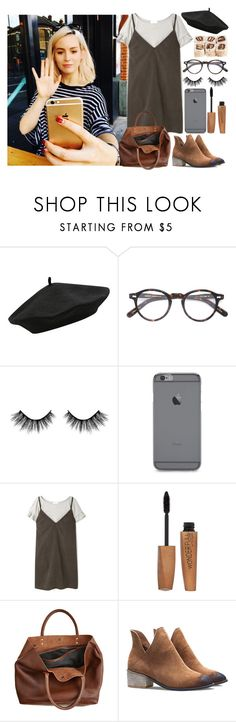 """Lunch with Gemma"" by yoo-girl ❤ liked on Polyvore featuring M&Co, Moscot, Rimmel, Monserat De Lucca, OneDirection, outfit, Lunch and gemmastyles"