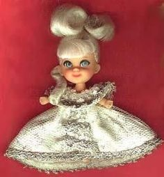 little kiddles cinderella doll from the 1960s | Liddle Kiddles - Cinderiddle