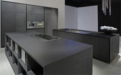 Download the catalogue and request prices of One | cement kitchen By rifra, kitchen with island, one Collection