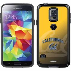 UC Berkeley Cal Watermark Yellow Design on Samsung Galaxy S5 CandyShell Case by Speck