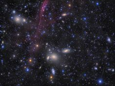 Antlia Galaxy Cluster (Abell S0636) - Extreme Deep Field - 152 Hours