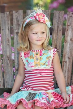 Six vibrant spring panels are decorated with cheerful sea glass blue, pink, and orange. Your little girl will treasure this skirt for playdates and violin recitals. Little Girl Outfits, Little Girls, Persnickety Clothing, Cute Young Girl, Recital, Toddler Fashion, Vibrant, Cream, February