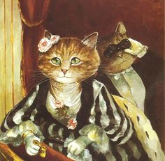 Susan Herbert: La Loge, d'après Renoir.