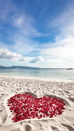 Photo about Heart of roses petals on tropical sandy beach. Image of honeymoon, romantic, outdoor - 36695176 Photos Bff, Beach Photos, Beach Proposal, Proposal Ideas, Proposal Photos, Beach Heart, Photo Summer, Summer Vibe, Summer Breeze
