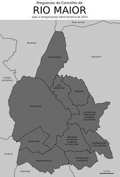 Freguesias do concelho de Rio Maior