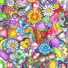 Color pencil drawings: Kristina Webb is a young teenager from New Zealand who has a passion for color pencil art. Her passion for creative art started from childhood, ever since she was taught to Kristina Webb Drawings, Kristina Webb Art, Sharpie Drawings, Cute Drawings, Pencil Drawings, Sharpie Zeichnungen, Mandala, Doodle Coloring, Color Pencil Art