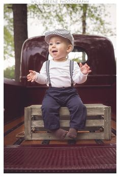 Davis's 9 month session, Will Greene Photography, Williamston, NC